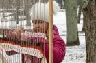Rembates parkā pie Lielvārdes novada Kultūras centra jau otro gadu tika svinēti Meteņi, lai kopā ieskandinātu pavasari 5