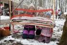 Rembates parkā pie Lielvārdes novada Kultūras centra jau otro gadu tika svinēti Meteņi, lai kopā ieskandinātu pavasari 8