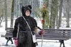 Rembates parkā pie Lielvārdes novada Kultūras centra jau otro gadu tika svinēti Meteņi, lai kopā ieskandinātu pavasari 11