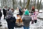 Rembates parkā pie Lielvārdes novada Kultūras centra jau otro gadu tika svinēti Meteņi, lai kopā ieskandinātu pavasari 21