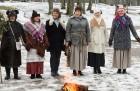 Rembates parkā pie Lielvārdes novada Kultūras centra jau otro gadu tika svinēti Meteņi, lai kopā ieskandinātu pavasari 22