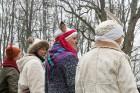 Rembates parkā pie Lielvārdes novada Kultūras centra jau otro gadu tika svinēti Meteņi, lai kopā ieskandinātu pavasari 23