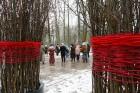 Rembates parkā pie Lielvārdes novada Kultūras centra jau otro gadu tika svinēti Meteņi, lai kopā ieskandinātu pavasari 24