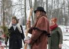 Rembates parkā pie Lielvārdes novada Kultūras centra jau otro gadu tika svinēti Meteņi, lai kopā ieskandinātu pavasari 30