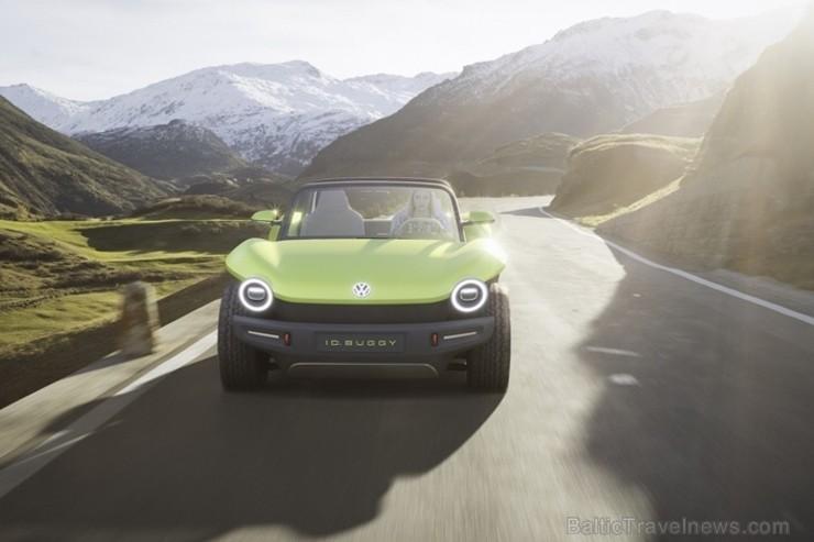 Pasaules pirmizrādi piedzīvo «Volkswagen» konceptauto «ID. BUGGY»