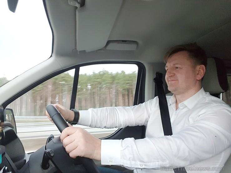 Travelnews.lv ar jauno «Ford Tourneo Custom» no «Sixt Latvija» dodas ceļojumā uz Berlīni