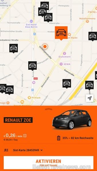 «Sixt»  kā pirmā premium klases auto noma pasaulē prezentē mobilitātes platformas aplikāciju tūrisma izstādē «ITB Berlin»  - «SIXT rent, SIXT share un