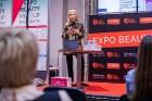 Universālveikalā «Elkor Plaza» uz pavasara skaistuma pasākumu «Expo Beauty Meetup 2019» vienkopus pulcējās vairāk nekā 50 skaistuma industrijas profes 7