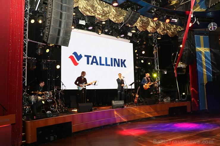 Prāmju kompānija «Tallink Grupp» uz «Romantika» klāja svin 30 gadu jubileju un 13 gadus Latvijā 250666