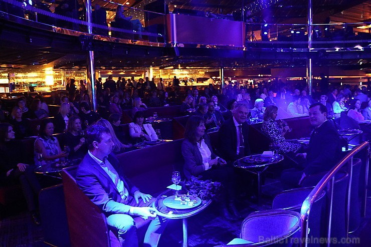 Prāmju kompānija «Tallink Grupp» uz «Romantika» klāja svin 30 gadu jubileju un 13 gadus Latvijā