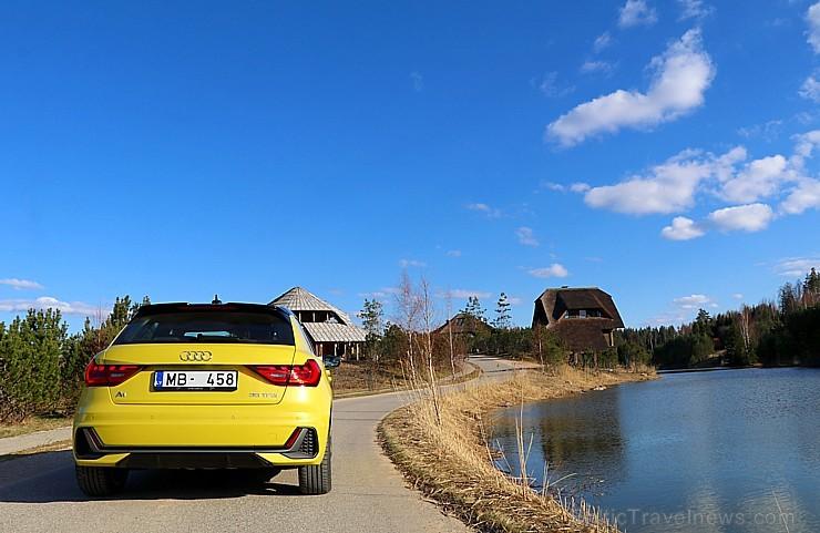 Travelnews.lv ar jauno «Audi A1» apceļo Amatciemu un «Jonathan Spa Estate»