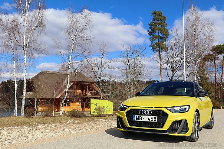 Travelnews.lv ar jauno «Audi A1» apceļo Amatciemu un «Jonathan Spa Estate»