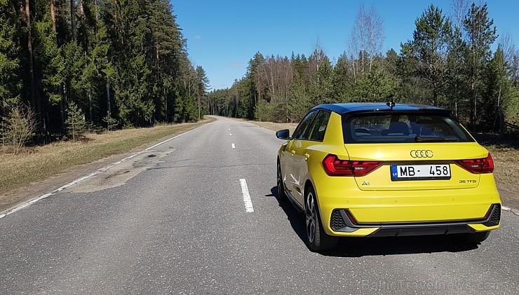 Travelnews.lv ar jauno «Audi A1» apceļo pavasarīgo Pierīgu