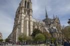 Parīzes Dievmātes katedrāle ir viens no visvairāk apmeklētākajiem tūrisma objektiem Parīzē. Elpu aizraujošās vitrāžas un griestu velves, kas datējamas 11