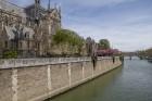 Parīzes Dievmātes katedrāle ir viens no visvairāk apmeklētākajiem tūrisma objektiem Parīzē. Elpu aizraujošās vitrāžas un griestu velves, kas datējamas 12