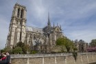 Parīzes Dievmātes katedrāle ir viens no visvairāk apmeklētākajiem tūrisma objektiem Parīzē. Elpu aizraujošās vitrāžas un griestu velves, kas datējamas 14