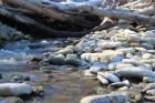 Künnapõhja oja, Strauta upes izteka iezīmē robešu staro pklinšaino stāvkrastu un mums tuvāko mālaini smilšaino. 22