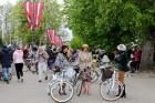 Tvīda brauciens Ogrē 4. maijā kļuvis par neatņemamu Latvijas neatkarības atjaunošanas dienas pasākumu atzīmēšanas daļu un arī šogad lietus un aukstums 1