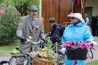 Tvīda brauciens Ogrē 4. maijā kļuvis par neatņemamu Latvijas neatkarības atjaunošanas dienas pasākumu atzīmēšanas daļu un arī šogad lietus un aukstums 10