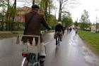 Tvīda brauciens Ogrē 4. maijā kļuvis par neatņemamu Latvijas neatkarības atjaunošanas dienas pasākumu atzīmēšanas daļu un arī šogad lietus un aukstums 21