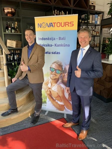 Tūroperators Novatours kopā ar tūrisma profesionāļiem svinīgi atklāj jauno ceļojumu iepriekšpārdošanas sezonu gan uz iemīļotajiem ceļojumu galamērķiem