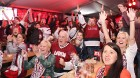 Hokeja fanu māja «Dinamo Rīga»: Latvija uzvar Austriju ar teicamu rezultātu. Atbalsta: «Rīga Istande Hotel» 6