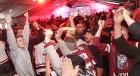 Hokeja fanu māja «Dinamo Rīga»: Latvija uzvar Austriju ar teicamu rezultātu. Atbalsta: «Rīga Istande Hotel» 45