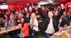 Hokeja fanu māja «Dinamo Rīga»: Latvija uzvar Austriju ar teicamu rezultātu. Atbalsta: «Rīga Istande Hotel» 52