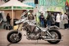 Moto & Metal NESTER CUSTOM mākslas galerija Preiļos ir izklaides komplekss ar izstāžu zālēm, individualizētiem motocikliem un metāla mākslas skulptūrā 8