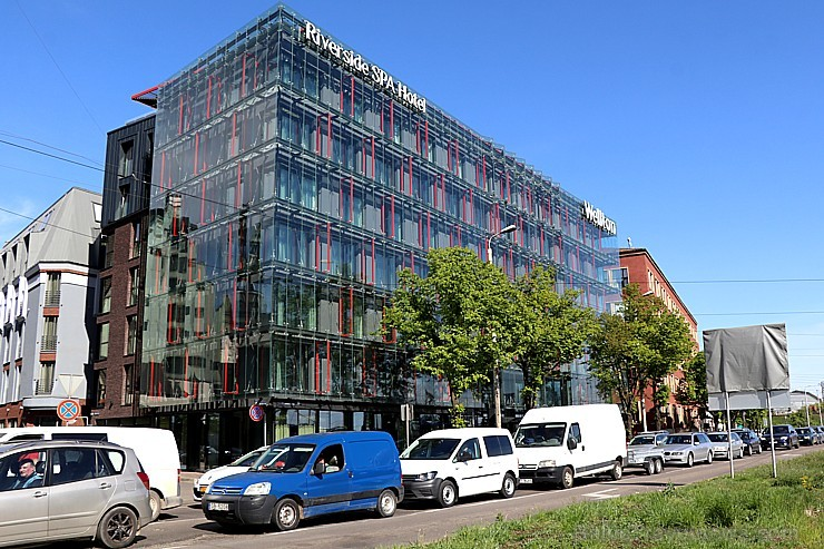 Oficiāli 16.05.2019 tiek atklāta viena no skaistākajām Rīgas 4 zvaigžņu viesnīcām - «Wellton Riverside SPA Hotel»