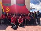 Tūroperatora Alida Tūrs valdes priekšsēdētājs Arno Ter-Saakovs piepildījis savu sapni un sasniedzis pasaules augstāko virsotni Everestu 11