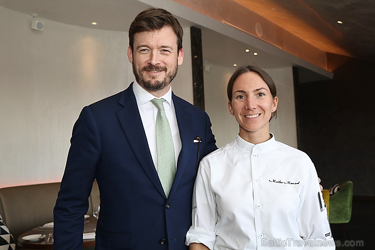 «Schwarzreiter» garša no Michelin pavāres Maike Menzel ir baudāma 2 dienas Rīgā - restorānā «Stage22»