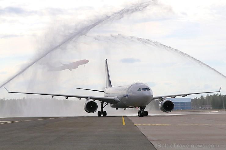 Rīgā 24.05.2019 pirmo reizi ierodas tūristi no Dienvidkorejas ar tiešo «Korean Air» čarterlidojumu