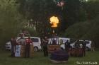 Festivāla laikā virs Kuldīgas krāšņi pacēlās vairākas gaisa balonu ekipāžas un priecēja kuplo apmeklētaju pulku 5