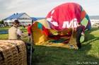 Festivāla laikā virs Kuldīgas krāšņi pacēlās vairākas gaisa balonu ekipāžas un priecēja kuplo apmeklētaju pulku 7