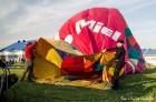 Festivāla laikā virs Kuldīgas krāšņi pacēlās vairākas gaisa balonu ekipāžas un priecēja kuplo apmeklētaju pulku 8