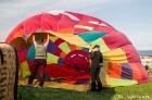 Festivāla laikā virs Kuldīgas krāšņi pacēlās vairākas gaisa balonu ekipāžas un priecēja kuplo apmeklētaju pulku 9