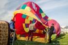 Festivāla laikā virs Kuldīgas krāšņi pacēlās vairākas gaisa balonu ekipāžas un priecēja kuplo apmeklētaju pulku 10