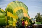 Festivāla laikā virs Kuldīgas krāšņi pacēlās vairākas gaisa balonu ekipāžas un priecēja kuplo apmeklētaju pulku 19