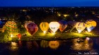 Festivāla laikā virs Kuldīgas krāšņi pacēlās vairākas gaisa balonu ekipāžas un priecēja kuplo apmeklētaju pulku 57