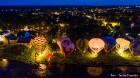 Festivāla laikā virs Kuldīgas krāšņi pacēlās vairākas gaisa balonu ekipāžas un priecēja kuplo apmeklētaju pulku 59