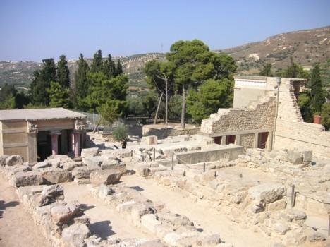 komentārs: 5 km uz dienvidiem no Krētas, Knosas pils  avots: www.travelnews.lv 14124