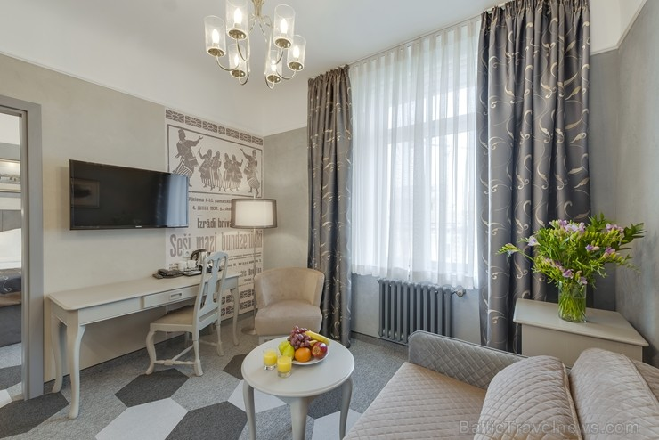 Viesnīcas Metropole by Semarah Hotels jaunie Standard un Deluxe numuri apvieno moderno ar senatnīgo