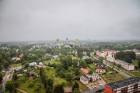 Visu Siguldas pilsētas svētku garumā siguldieši un pilsētas viesi baudīja krāšņu mākoņu kuģu rīta un vakara lidojumus 5