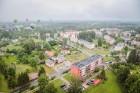 Visu Siguldas pilsētas svētku garumā siguldieši un pilsētas viesi baudīja krāšņu mākoņu kuģu rīta un vakara lidojumus 6