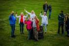 Visu Siguldas pilsētas svētku garumā siguldieši un pilsētas viesi baudīja krāšņu mākoņu kuģu rīta un vakara lidojumus 20