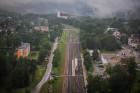 Visu Siguldas pilsētas svētku garumā siguldieši un pilsētas viesi baudīja krāšņu mākoņu kuģu rīta un vakara lidojumus 43