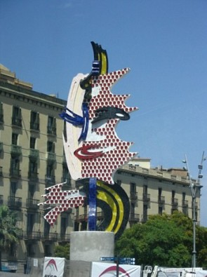 komentārs: piemineklis Barselonas seja avots: www.travelnews.lv 14154