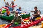 Aizsargājamo ainavu apvidū Augšdaugava notika pasākums Lielais plosts 2019, kas aktīvās atpūtas cienītāju vidū jau ir kļuvis iecienīts un tuvs