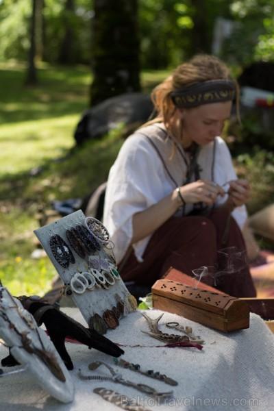 Preiļu novada Jasmuižas parkā pirmo reizi tika rīkots ekofestivāls
